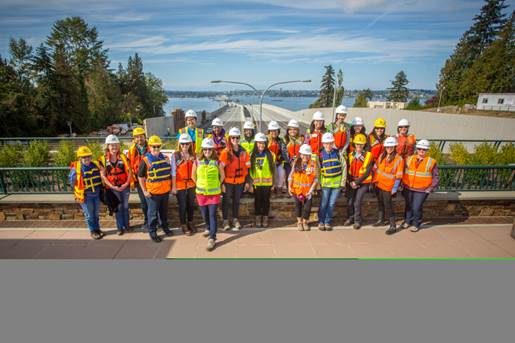 Franklin HS 520 Bridge Tour with WTS Transportation You and IGNITE