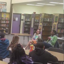 IGNITE Panel at Illahee Middle School