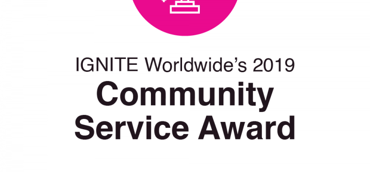 T-Mobile Receives IGNITE's 2019 Community Service Award