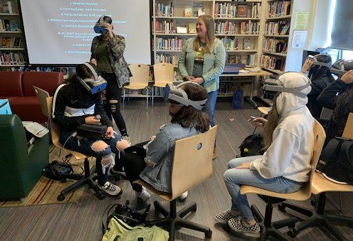 VR Workshop at Ida B. Wells High School