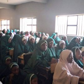IGNITE Panel at Mariamoh Ajiri Memorial International School Katsina, Nigeria
