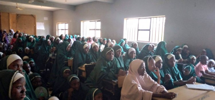 IGNITE Panel at Mariamoh Ajiri Memorial International School Katsina, Nigeria