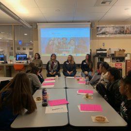 Panel at Graham-Kapowsin High School