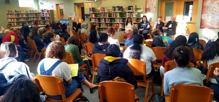 Panel at West Seattle High School