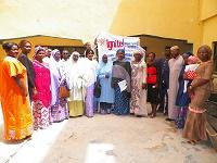 IGNITE Katsina School Club coordinators posed with the school proprietors and principals