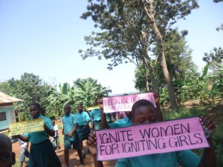 IGNITE WOMEN marching to Ignite Girls - Copy