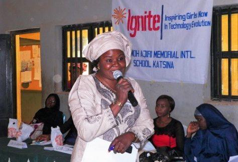 Edith, Principal, Mariamoh Ajiri School