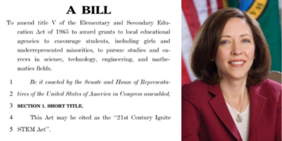 Senator Cantwell IGNITE ACt