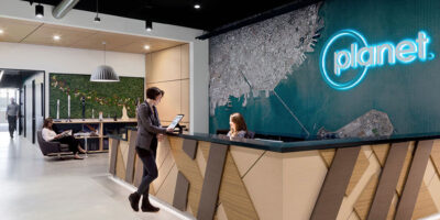 Office at Planet Labs