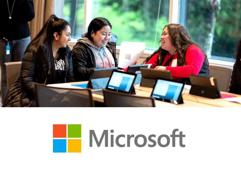Women Coding at Microsoft